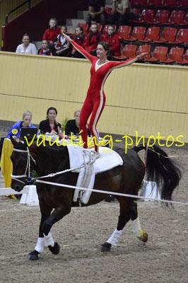 Skibby I (DEN); Pferd: Amadeus Höjbogard; Longe: Hanne Haagen Hansen