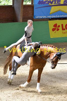 Salzmünde I (GER); Pferd: Summersby; Longe: Franziska Mauff