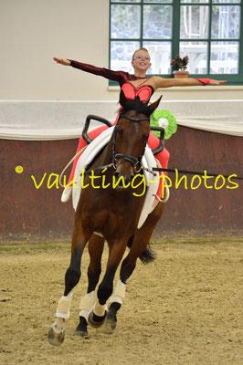 Juniorteam Hungen; LV: Hessen; Pferd: Contino; Longe: Ulla Dietz
