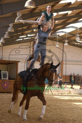 Salzmünde I; Pferd: Summersby; Longe: Franziska Mauff
