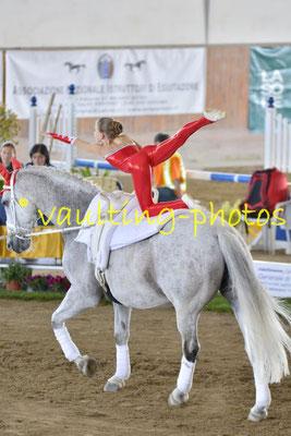 Harlekin Junioren (SUI); Pferd: Lintas Ass; Longe: Simone Jaiser