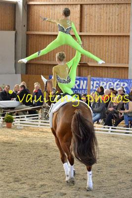 Juniorteam II Schenkenberg; Pferd: Giovanni; Longe: Katja Wagner