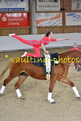 Krumke III; Pferd: Corado; Longe: Marion Schulze