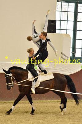 Ingelheim Juniorteam; LV: Rheinland-Pfalz; Pferd: Poker 83; Longe: Jürgen Köhler