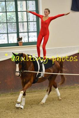 Lingen-Juniorteam; LV: Weser-Ems; Pferd: Casanova; Longe: Agnes Fösrt