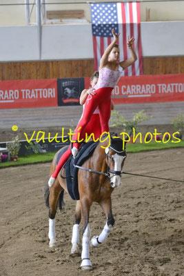 UVT Salzburg Wals-Schullergut (AUT); Pferd: Little Louis 7; Longe: Marcela Hoffmann