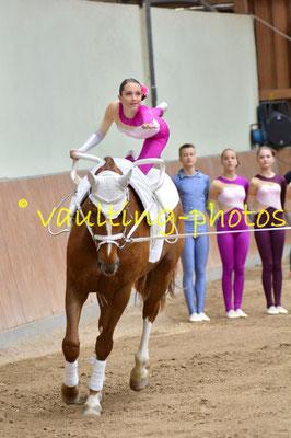 Blankenfelder RV I; LV: Berlin-Brandenburg; Pferd:Goethe; Longe: Vera Drechsel