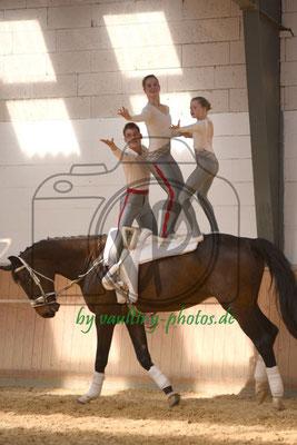 Hoisbüttel II; Pferd: Quschinski; Longe: Ines Jückstock