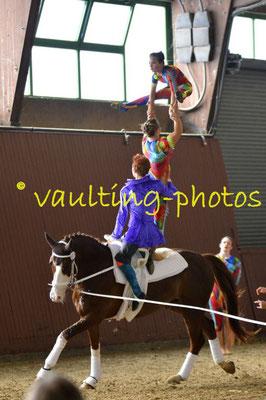RSV Neuss-Grimlinghausen I; LV: Rheinland; Pferd: Smarti; Longe: Elisabeth Simon