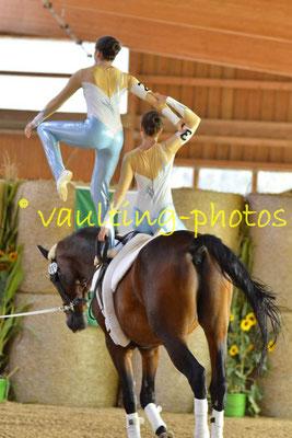 Böhlitz-Ehrenberg Juniorteam; Longe: Jane Zilm; Pferd: Remus