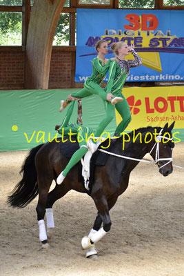 Juniorteam Brakel I (GER); Pferd: Dorian Gray; Longe: Anna Brinkmann