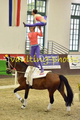 VV Ingelsberg Junior I; LV: Bayern; Pferd: Holt´s Romeo; Longe: Alexander Hartl