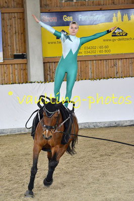 Potsdamer RV; Pferd: Gina; Longe: Franziska Rennert