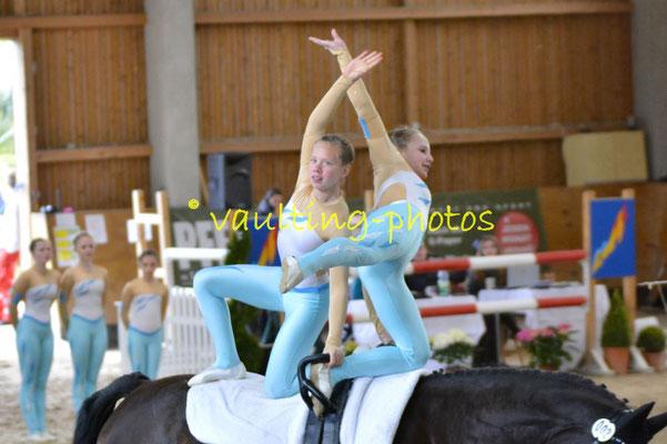 Reibitz II; Pferd: Ronan 04; Longe: Martina Geißler