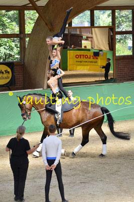 Juniorteam Krumke I (GER); Pferd: San Zero; Longe: Marion Schulze