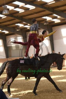 Königskinder I; Pferd: Dafee; Longe: Kirsten Predik