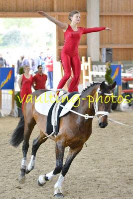 LRV Spandau I; Pferd: Donna Dilly; Longe: Jana Turowski