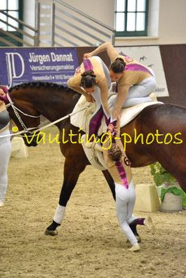 Gilching Junior I; LV: Bayern; Pferd: Amantillado; Longe: Bettina Groß