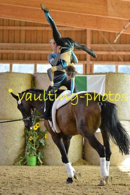 RVV Reibitz I; Longe: Nicole Oleszak; Pferd: Rubin Fiorello