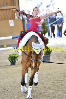 Juniorteam I Schenkenberg; Pferd: Neo; Longe: Peter Wagner