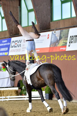 Juniorteam Brakel; LV: Westfalen; Pferd: Dorian Gray; Longe: Anna Brinkmann