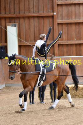 Rhön/Palmsberg I; LV: Bayern; Pferd: Licanto; Longe: Jutta Sitzmann