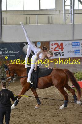 Theresa Neugebauer/Teresa Krispel (AUT); Pferd: Ramazotti; Longe: Melanie NeubauerTheresa Neugebauer/Teresa Krispel (AUT); Pferd: Ramazotti; Longe: Melanie Neubauer