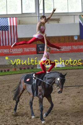 Selina Walder/Svenja Lehmann (SUI); Pferd: Bentley; Longe: Rita Blieske
