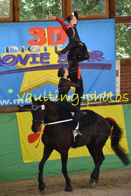 HH-Wentorfer RV I (GER); Pferd: Alpha; Longe: Justina Hildebrandt
