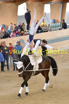 Theresa Thiel/Stefan Csandl (AUT); Pferd: Crossino 2; Longe: Karin Böhmer