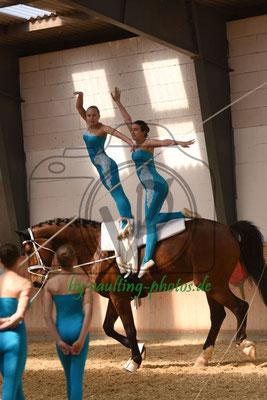 Civitas Zerbst I; Pferd: Canabis; Longe: Anja Aderholz