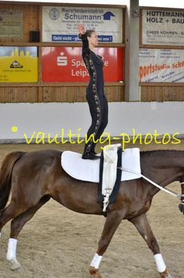 Grunewald I; Pferd: Ganymed; Longe: Jutta Breddermann