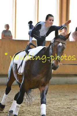 RV Lößnitz; Longe: Jenny Seiche; Pferd: Borneo