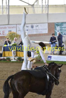 Team ICARO BLU (ITA); Pferd: Quarzo del Belagaio; Longe: Guilia Bardelli