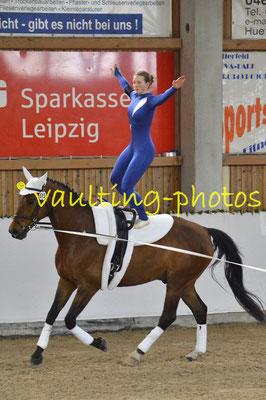 Liebertwolkwitz I; Pferd: Lex Last Lotus; Longe: Franziska Kugeler-Meyer