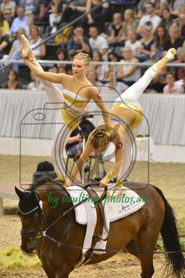 VV Metelen Team I; LV: Westfalen; Pferd: Adrenalin A; Longe: Kerstin Bock