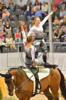 RVV Equus I; LV: Rheinland; Pferd: Feel the beat; Longe: Skyra Böing
