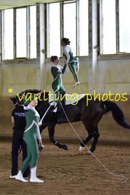 Weimar II; Pferd: Avon; Longe: Nadia Geyersbach