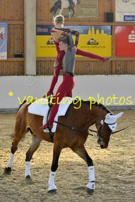 Schenkenberg I; Pferd Neo; Longe: Peter Wagner