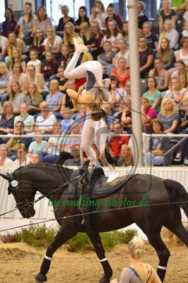 Team Timeloh-Hof; LV: Hannover; Pferd: Dark Beluga; Longe: Barbara Rosiny