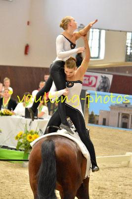 Wehdem-Oppendorf Junior I; LV: Westfalen; Pferd: No Doktors; Longe: Antje Döhnert