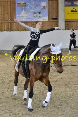 Schenkenberg III; Pferd: Chakira; Longe: Peter Wagner
