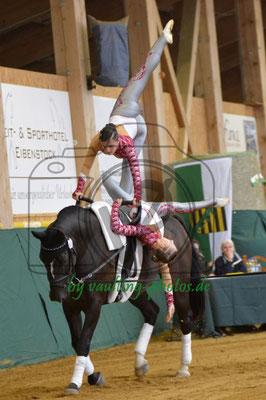 RVV Reibitz II; Pferd: Ronan, Longe: Martina Geißler