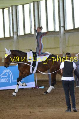 RFV Herodot Leipzig; Pferd: Quincy; Longe: Katrin Visser