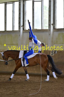Herodot III; Pferd: Let´s Fez; Longe: Susanne Richter