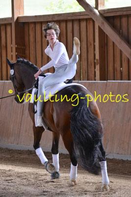 RC Olympiastadion II; LV: Berlin-Brandenburg; Pferd: Cobolt; Longe: Tamina Heinemann