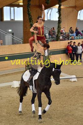 Eliana Arcioni/Gaia Luna Cassanmagnago (ITA); Pferd: Renoire; Longe: Claudia Petersohn