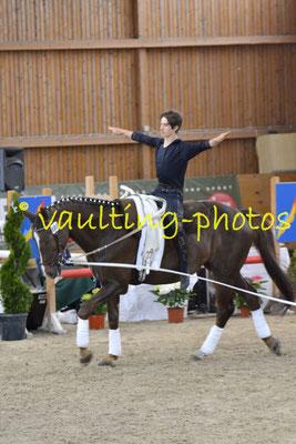 RC Grunewald; Pferd: Ganymed; Longe: Jutta Breddermann