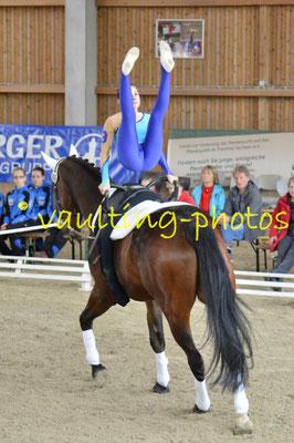 Schenkenberg III; Pferd: Wotan; Longe: Gerhard Kluger