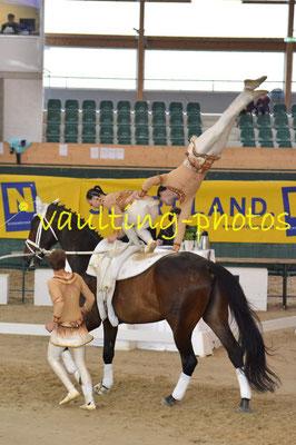 Italy Senior (ITA); Pferd: Hot Date Tek; Longe: Laura Carnabuci